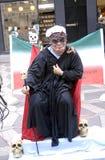 playcards brutali dell'Iran Immagini Stock Libere da Diritti