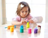 playdough игры стоковое изображение