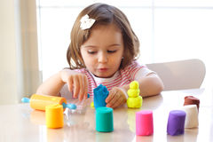 Playdough game Royalty Free Stock Photo