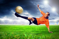 Player Royalty Free Stock Images