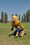 Player american football Royalty Free Stock Photo
