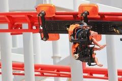 Player amusement park. Stock Image