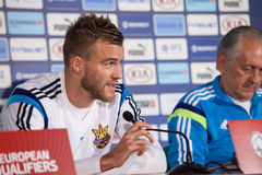 Player Andriy Yarmolenko Royalty Free Stock Photos