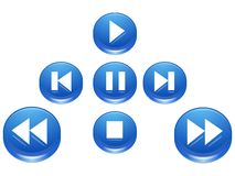 Free Player Buttons Stock Photo - 2294000