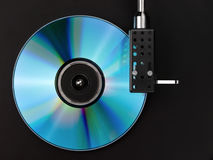 Player of  disks. Stock Photography