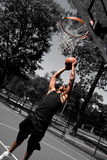 Player Dunking Royalty Free Stock Photo