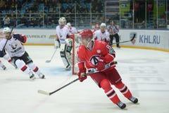 Player of hockey club  Royalty Free Stock Image