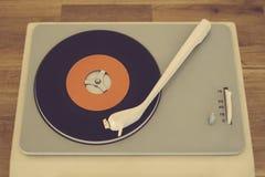 player record retro Στοκ φωτογραφία με δικαίωμα ελεύθερης χρήσης