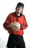player rugby vertical Στοκ εικόνα με δικαίωμα ελεύθερης χρήσης
