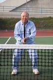 player senior tennis Στοκ Φωτογραφία