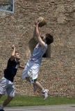 Player shot the ball-1 Stock Photo