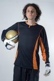 player soccer vertical Στοκ εικόνα με δικαίωμα ελεύθερης χρήσης