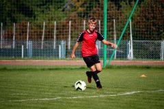 Player, Sport Venue, Sports, Football Player stock photo