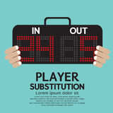 Player Substitution Sport Stock Image