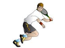 player tennis Στοκ φωτογραφία με δικαίωμα ελεύθερης χρήσης