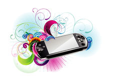 Player vector illustration Stock Photos