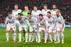 Players Bayer Leverkusen Royalty Free Stock Image