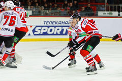 Players Donbass Donetsk and  Metallurg Novokuznetsk Royalty Free Stock Photography