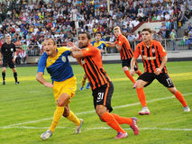 Players of FC Shakhtar_3 Royalty Free Stock Photography