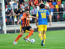 Players of FC Shakhtar_5 Royalty Free Stock Images