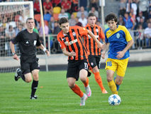 Players of FC Shakhtar_6 Royalty Free Stock Image