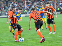 Players of FC Shakhtar_8 Royalty Free Stock Photos