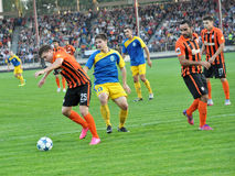 Players of FC Shakhtar_9 Royalty Free Stock Images