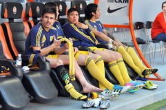 Players of Metalist Stock Photo