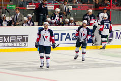 Players of Slovan (Bratislava) Stock Photography
