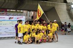 Players of 2013 Taipei Dragon Boat festival Royalty Free Stock Photos