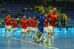 Players team Spain royalty free stock photos