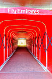 Players tunnel entrance/exit - Arsenal Football Club Stock Photography