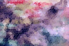 Playful abstract background in violet pink hues. Playful colorful abstract background in violet and pink hues with small diamond liike shapes and forms, abstract Royalty Free Illustration