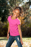 Playful African American Child Stock Photography