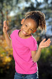 Playful African American Child Royalty Free Stock Photo