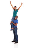 Playful african couple Royalty Free Stock Photo
