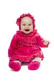 Playful baby girl Stock Photo