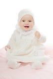 Playful baby girl Stock Photography
