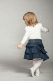 Playful baby girl  dancing Stock Photography