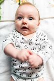 Playful baby Stock Images