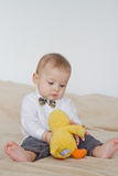 Playful baby Royalty Free Stock Photo