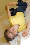 Playful Boy Royalty Free Stock Photo