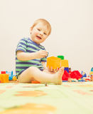 Playful boy Royalty Free Stock Photo