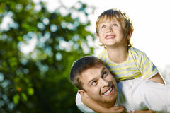 Playful boys Royalty Free Stock Photo