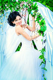 Playful bride Royalty Free Stock Images