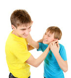 Playful Brothers Stock Photos