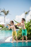 Playful brothers Stock Photography