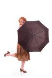 Playful businesswoman Stock Photo
