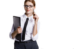 Playful businesswoman Stock Photos