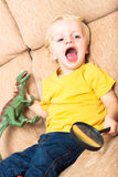 Playful child Stock Images